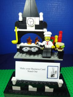 LEGO Restaurant Catering Cook  Kitchen BUSINESS by Dogghouse11, $23.99