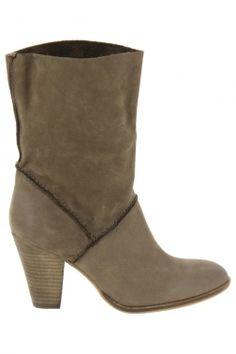 Bottines de ville spm taupe fka10611550 chaussures femme spm