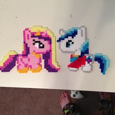 My Little Pony perler beads by thepurplepumpkin
