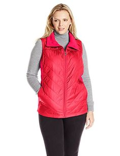 Columbia Women's Plus-Size Mix It Around Vest, Punch Pink...