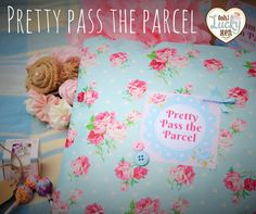 Vintage themed Hen Party Game 'Pretty Pass the by oohluckyhen