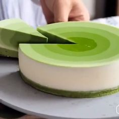 Matcha mousse cake by - essen - Best Cake Recipes Tea Recipes, Baking Recipes, Sweet Recipes, Cake Recipes, Dessert Recipes, Asian Desserts, Just Desserts, Delicious Desserts, Yummy Food