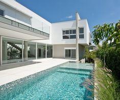 Galeria de Casa B19 / Arte Urbana Arquitetos - 1 House Plans, Villa, 1, Mansions, House Styles, Outdoor Decor, Home Decor, Architects, Swiming Pool
