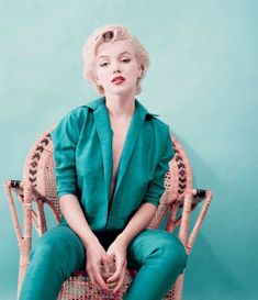 Marilyn Monroe photographed by Milton Greene, 1954.