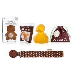 Newborn Essential Gift Bundle – Unisex – Hevea Planet - 100% caoutchouc- 0% plastic & BPA