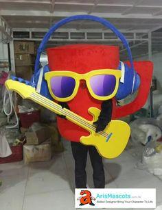 Custom Cup mascot costume, advertising mascot suit, Maskottchen Kostüm