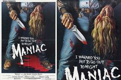 This design isn't for everyone. In fact, it still surprises me that this poster actually got a wide release even by 1980's low censorship standards. The bright red blood pool alone would get the designer of this poster castrated nowadays, let alone the implied violence toward women and (GASP!) the unkempt button-up shirt! However, this poster is pretty tame in comparison to the madness of a movie that it's representing.