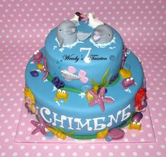 dolphin cake. Dolphin Birthday Cakes, Dolphin Cakes, 10th Birthday, Birthday Parties, Birthday Ideas, Dolphin Party, Cake Central, Specialty Cakes, Cupcake Cakes