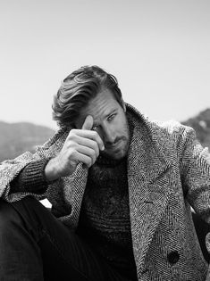 "mariablanca: "" Armie Hammer for C For Men, October 2016 """