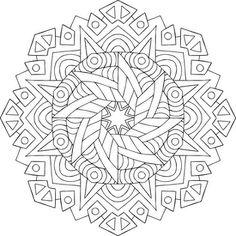 Buddha's Star Coloring Page #adultcoloring #mandalas #mondaymandala #coloring #ilovetocolor #art #color #printable #coloringpages #print #blackandwhite