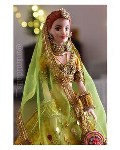 Wedding Doll, Barbie Wedding, Stylish Dress Designs, Stylish Dresses, Barbie Dress, Barbie Clothes, Barbie India, Best Indian Wedding Dresses, Barbie Bridal