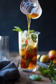 The Bojon Gourmet: Basil Plum Pimm's Cup
