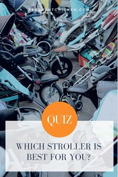 When it comes to baby gear, the picking the right stroller might be the most important decision a new mom makes. Take this free quiz to know which stroller is best for you before deciding which one to add to your baby registry. New Parents, New Moms, Best Baby Strollers, Newborn Baby Care, Baby On A Budget, Postpartum Care, Pregnancy Care, First Time Moms, Baby Essentials