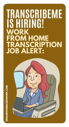 TranscribeMe is one of the best work from home transcription jobs and one of my personal favorites. The company is a top-rated work from home opportunity. If you've ever wanted to try transcription work, TranscribeMe is currently hiring for flexible work from home transcription jobs. Save and read to learn more! #nowhiring #transcription #workathome Work From Home Typing, Work From Home Jobs, Home Based Work, Typing Jobs, Virtual Assistant Jobs, Freelance Writing Jobs, Legitimate Work From Home, Work From Home Opportunities, Flexible Working
