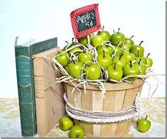 DIY Fall decor - apple basket DIY Fall Decor DIY Home Decor