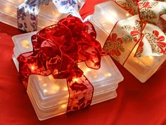 These gorgeous lighted blocks are now on sale in the Great Hall of the Cultural Center of Cape Cod.  Proceeds from these gorgeous lighted blocks (and a few lighted wine bottles) made by a crew of incredible volunteers go to fund the Cultural Center and its programs.  They make fantastic gifts!  So do GIFT CERTIFICATES to our events & wonderful gift shop!  Blocks: $32 each.  Visit www.cultural-center.org for information. Lighted Wine Bottles, Cultural Center, Gift Certificates, Volunteers, Cape Cod, Stuff To Do, Gift Wrapping, The Incredibles, Events