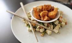 Zeleninové tofu so zemiakmi batáty - Recept