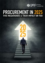 Procurement in 2025: Five Megatrends & Their Implications