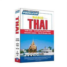 AUDIOBOOK - Pimsleur Thai Basic Course