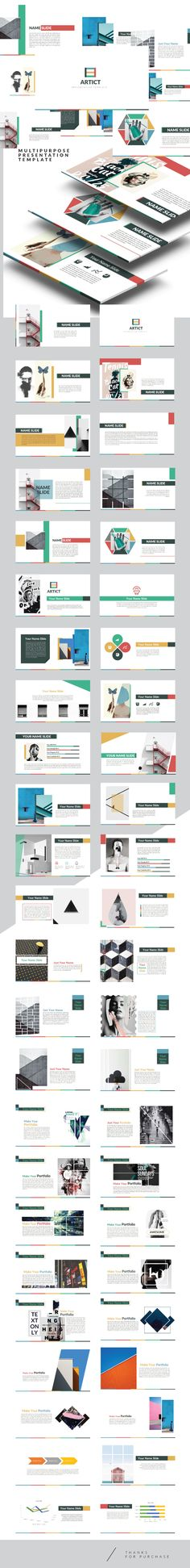 Artic - Multipurpose Powerpoint Creative template