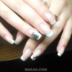 We're now bringing latest french nail designs you definitely need to try! If you're hunting to stay on your best fashion-contest, here are the cult nail art French Nail Designs, Nail Art Designs, French Nails, Nailart, Nail Desings, Gel Manicure, Product Launch, Design Ideas, Inspiration