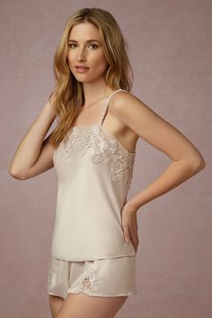 Shop our vintage-inspired bridal lingerie collection. BHLDN offers a variety of wedding lingerie perfect for your wedding night and beyond! Wedding Night Lingerie, Wedding Lingerie, Lingerie Sleepwear, Nightwear, Night Outfits, Fashion Outfits, Outfit Night, Night Suit, Pretty Lingerie