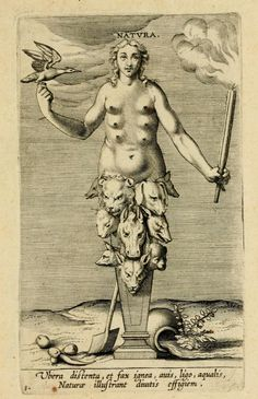 Natura - Allegory of Nature - Prosopographia (1594)