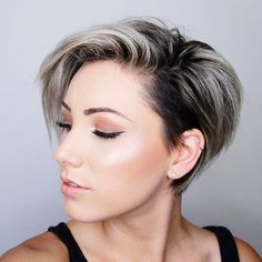 """434 Likes, 2 Comments - Pixie Hair is DOPE #AF (@pixiepalooza) on Instagram: """"Beautiful shot from @chloenbrown - who says, """"CONFIDENCE is the best hairstyle"""" …"""""""