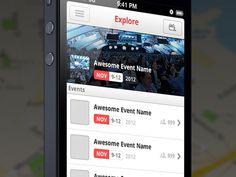 Explore - iPhone UI (@2x)