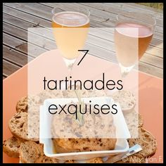 7 tartinades végétariennes exquises - Expolore the best and the special ideas about Wine time Macarons Vegan, Miss Van, Alcoholic Drinks, Cocktails, Wine Time, Entrees, Tapas, Cereal, Recipies
