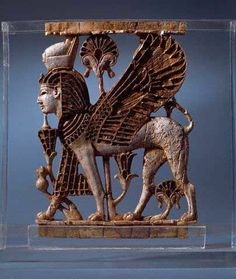 Sphinx Ornament From a Throne 7th с BC