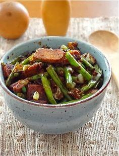 Tempeh vegetables stir fry