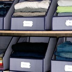 Closets can get you down. It's tough keeping them looking sharp and organized. With our Closet Storage Bins, everything stays in its right place. Leave the doors open and be proud of your perfectly organized space. Made of 100% Cotton, these bi...