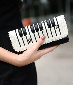 Piano Keyboard Print Wallet – Wallets | yeswalker | Free worldwide shipping on every order