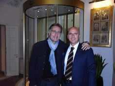 Paolo Bonolis guest at the Golden Tower Hotel #Florence #Tuscany #Italy