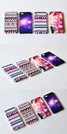 Pink pastel Space iphone 5 case , iphone 4s case cosmos , iPhone 4 galaxy , plastic case , iphone cover. $24.00, via Etsy.