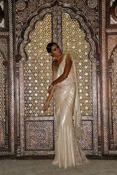 Tarun Tahiliani attire at the Falaknuma Palace, Hyderabad. INDIA