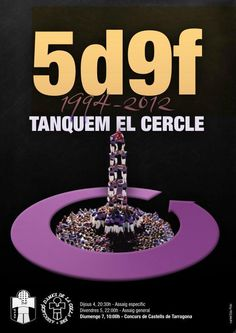 """""""Tanquem el cercle"""" d'Edu Polo. Colla Jove Xiquets de Tarragona."""