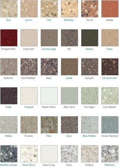 Dupont Corian Countertop Colors