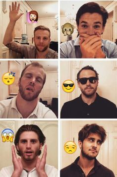 Chicago Blackhawks become emojis. Kris Versteeg is female for some reason. Andrew Shaw is perfect. Bryan Bickell does love to sleep. Andrew Desjardins just looks too cool.