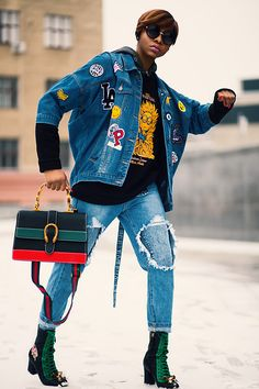 More looks by Melody Jacob: http://lb.nu/melodygodisable  #denim #fashionmodels #streetstyle #quality #fashionfinds #instafashion #instastyle #dolcegabbana #thursdaythreads