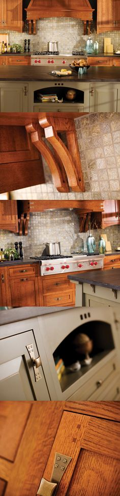 #Craftsman #Kitchen Design in Dura Supreme #Cabinetry