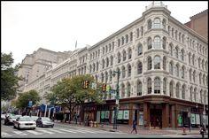 Discover the world through photos. Victorian Buildings, Victorian Architecture, Philadelphia Skyline, Husband Best Friend, Delaware River, Department Store, Camden, Pennsylvania, Slogan
