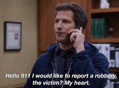 ✨ brooklyn nine-nine memes ✨ Brooklyn Nine Nine, Brooklyn 9 9, Tv Show Quotes, Film Quotes, Jake Peralta, Funny Memes, Jokes, Stupid Memes, Movie Lines