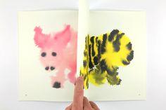 Dutch Illustrator Rop Van Mierlo's Charming Rorschah-Like Wash Paintings of Wild Animals | Brain Pickings