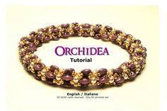 Orchid Bracelet TutorialInstant download PDF by FucsiaStyle, €5.00