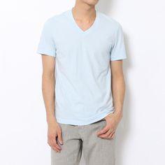 ベーシック VネックTシャツ MLJ3352TOMORROWLAND