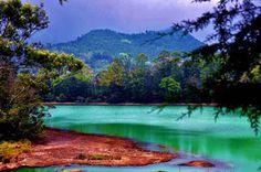Tour the Telaga Warna Dieng at an altitude of 2000 metres | objek wisata alam Sejarah Tempat Wisata Alam di Indonesia