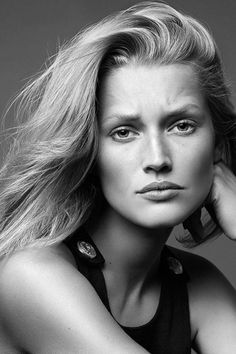 "senyahearts:  Toni Garrn by Alique in ""Icons"" for Models.com"