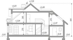 Ariadna I - Dobre Domy Flak & Abramowicz The Plan, How To Plan, Civil Construction, House Design Pictures, Simple House Design, Minimalist Home, House Plans, Floor Plans, Flooring